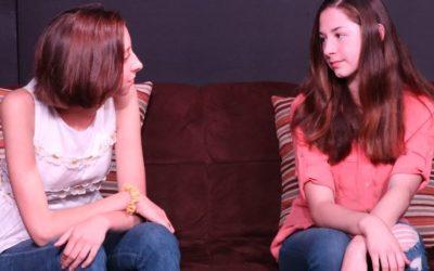 New Teen Actors in the Studio